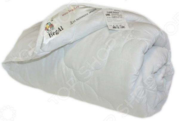 Одеяло облегченное BegAl «Волны». Цвет: белый