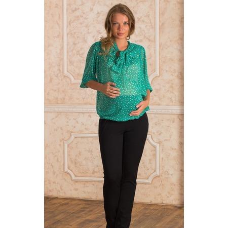 Купить Блузка для беременных Nuova Vita 1318.02. Цвет: бирюзовый