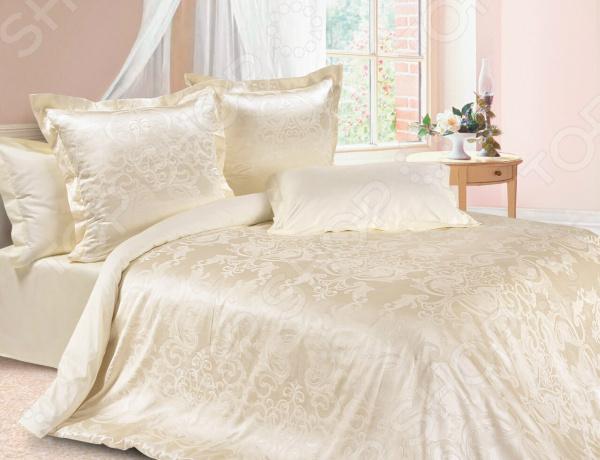 где купить Комплект постельного белья Ecotex «Грация». Евро по лучшей цене