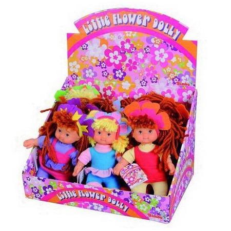 Купить Кукла Simba «Цветочек с шерстяными волосами». В ассортименте