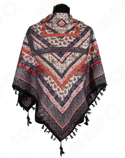 Платок Bona Ventura PL.XL-H.Pr.16 недорогой платок на шею для женщин