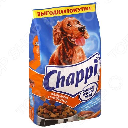 Корм сухой для собак Chappi «Мясное изобилие» туба космическое питание мясное пюре 165г