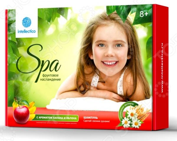 Набор для изготовления шампуня Intellectico «Фруктовое наслаждение» набор для создания духов intellectico апельсин mini