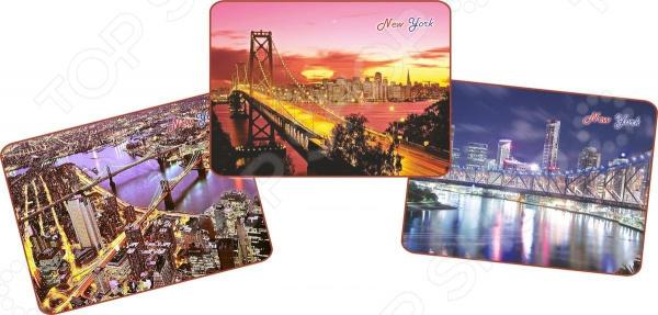 Набор ковриков для сервировки Gift'n'home «Удивительные мосты Нью-Йорка»