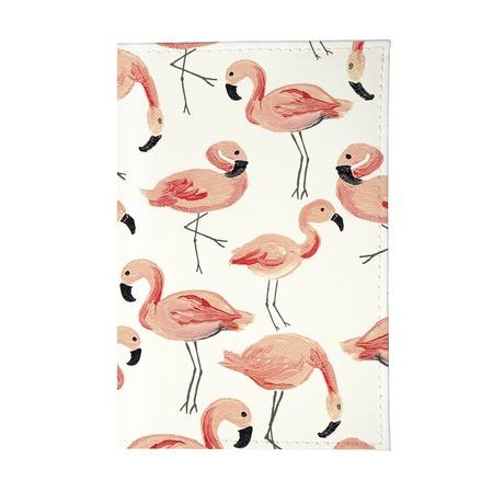 Купить Обложка для паспорта Mitya Veselkov «Розовый фламинго» OZAM439