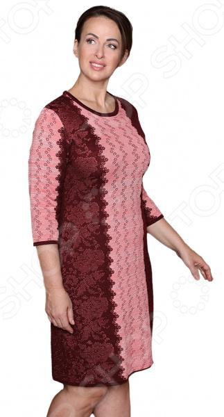 Платье Milana Style «Воплощение мечты». Цвет: винный milana style milana style mi038ewivh60