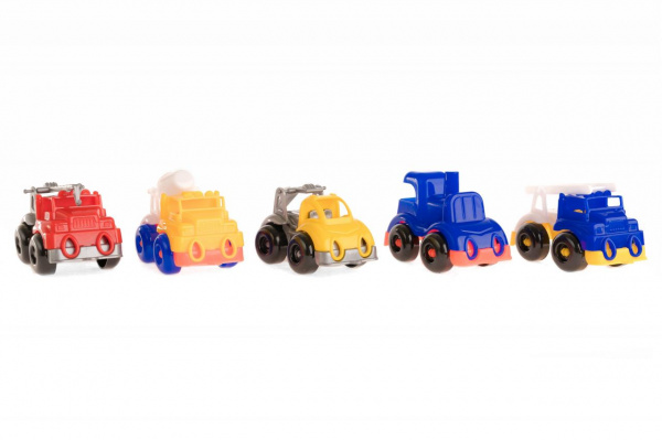 Набор машинок игрушечных Пластмастер «Малютка 5» пластмастер игрушечный набор валим лес