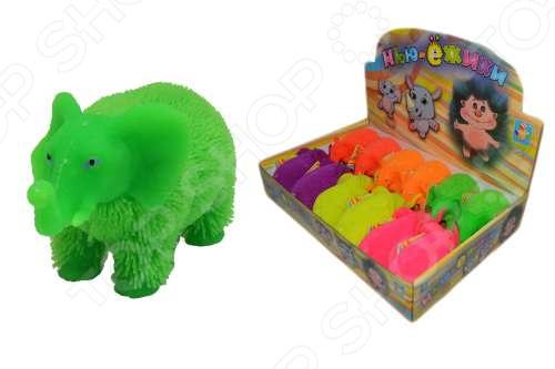 Игрушка-антистресс 1 Toy со светом «Слоник». В ассортименте