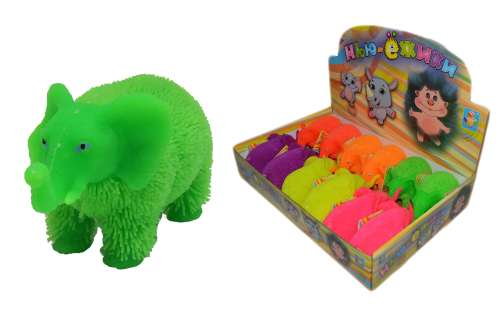 Игрушка-антистресс 1 Toy со светом «Слоник»