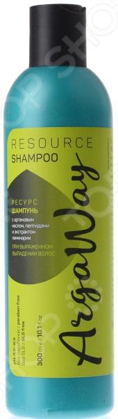 Шампунь от выпадения волос Argaway с аргановым маслом, пептидами и экстрактом ламинарии