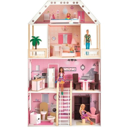 Купить Кукольный дом с аксессуарами PAREMO «Поместье Монтевиль»