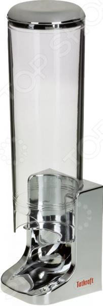 Диспенсер для ватных дисков Tatkraft Freya крючок двойной tatkraft mega lock на вакуумном шурупе