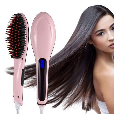 Купить Расческа-выпрямитель для волос HQT-906 Hair Straightener. В ассортименте