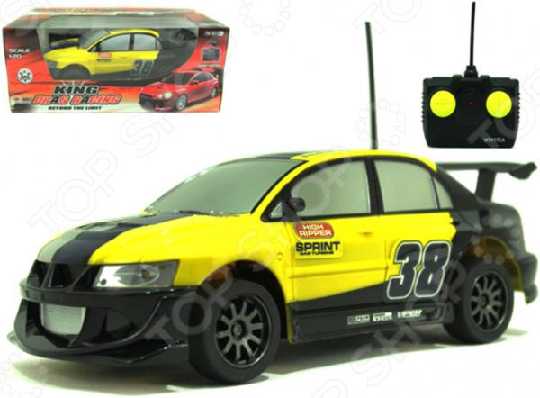 Машинка на радиоуправлении Yako «Спорт» 1724296 автомобиль б у в москве автосалон ах мицубиси палеро спорт
