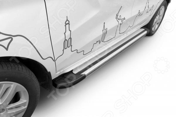 Комплект защиты штатных порогов Arbori Luxe Silver 1700 для LADA Xray, 2016 hustler комплект топ и трусики в сетку