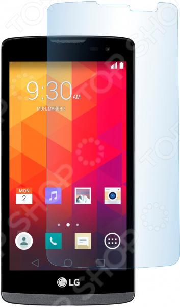 Стекло защитное skinBOX LG Max L Bello 2 чехлы для телефонов skinbox флип кейс lg max l bello 2