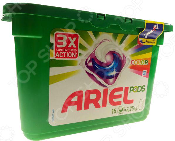 Гель-капсулы для стирки Ariel PODS Color & Style