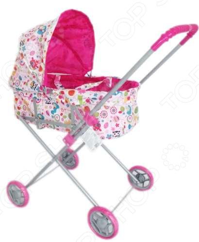 Коляска-люлька для кукол 1 Toy Т52262 коляски для кукол 1 toy красотка t58754