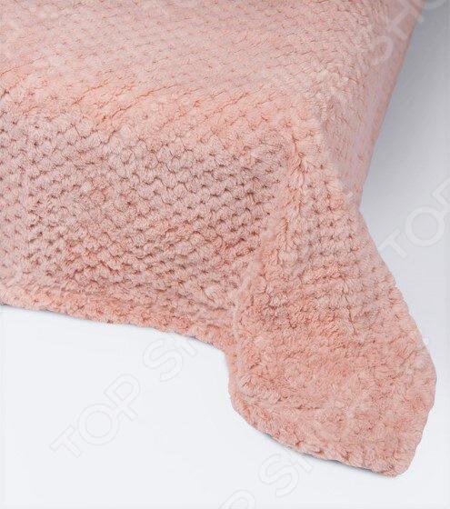 Плед Ecotex Elegance. Цвет: бледно розовый кровать из массива дерева xuan elegance furniture