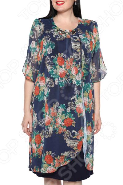 Платье Pretty Woman «Романтика». Цвет: синий