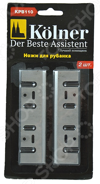 Набор ножей для электрорубанка Kolner KPB 110