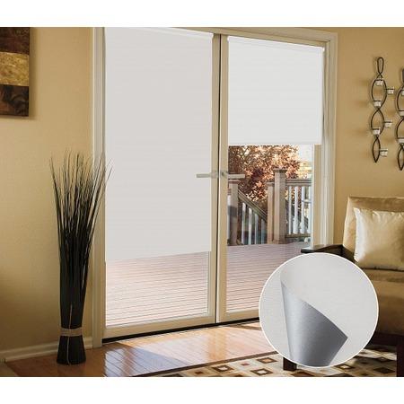 Купить Миниролло блэкаут Эскар для балконной двери светонепроницаемый
