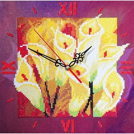 Купить Часы из алмазной мозаики Color Kit «Семейное счастье»