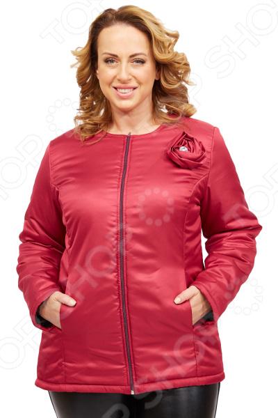 Куртка СВМ-ПРИНТ «Тонкий вкус». Цвет: брусничный  свм принт вкус востока цвет розовый