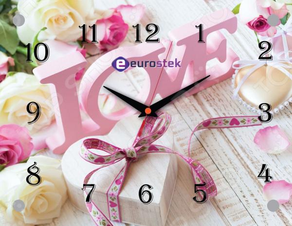Часы настенные Eurostek 2026-1014Э часы настенные eurostek 2026 сн r671