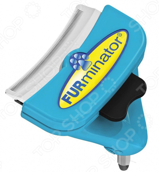 Фуминатор-насадка для собак средних пород FURminator FURflex «Против линьки»