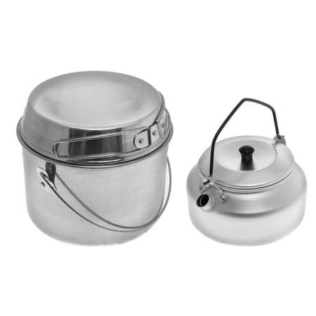 Купить Набор походный: чайник и котелок с крышкой-сковородой Helios HS-NP 010146-00
