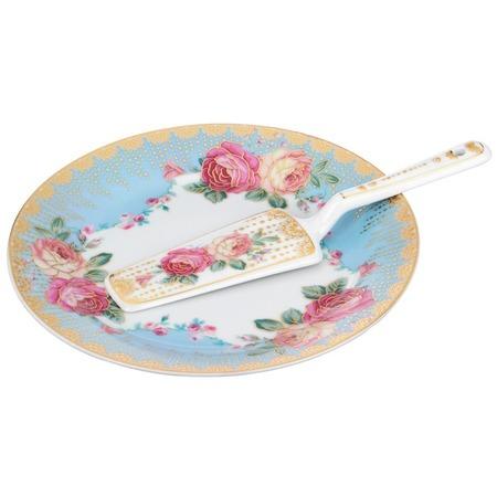 Купить Набор для торта: блюдо и лопатка Lefard 389-443