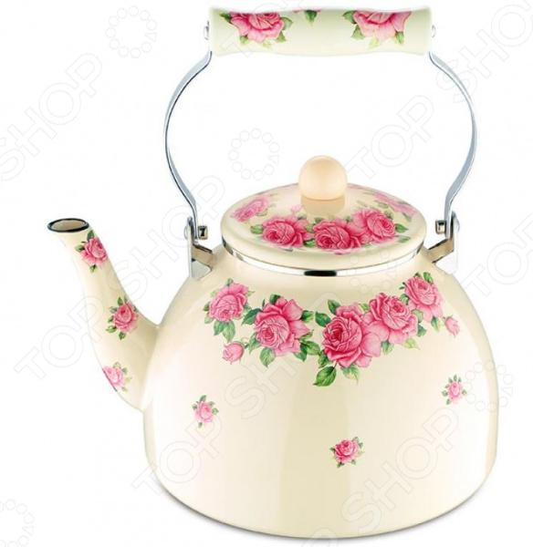 Чайник эмалированный Wellberg WB-3424 чайник эмалированный wellberg wb 3433