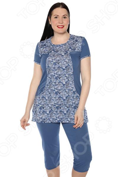 Костюм Ивассорти «Домашний уют». Цвет: джинс пижамы diadora домашний костюм