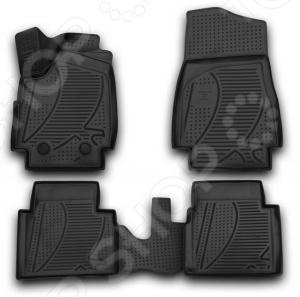 Комплект 3D ковриков в салон автомобиля Novline-Autofamily LADA 4х4 3D 2009 подкрылок с шумоизоляцией novline autofamily для lada priora 2007 задний правый