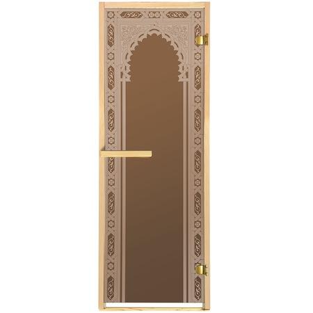 Купить Дверь для бани Банные штучки «Восточная арка»