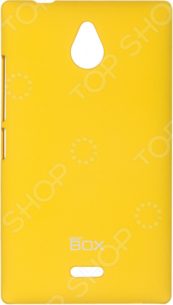 Чехол защитный skinBOX Nokia X2 чехлы для телефонов skinbox накладка для lg nexus 5 skinbox серия 4people защитная пленка в комплекте
