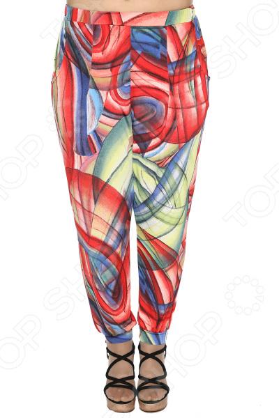 Брюки Pretty Woman «Райский комфорт». Цвет: мультиколор брюки pretty woman восточная сказка цвет синий