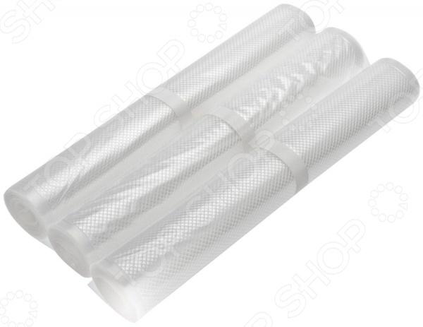 Пакеты для вакуумного упаковщика STATUS VB 28х300-3 рулоны для вакуумирования status vb 28 300 3