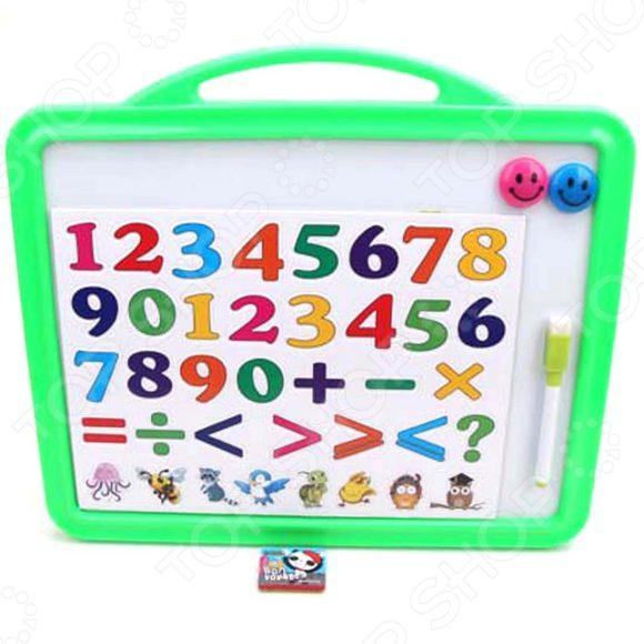 Доска для рисования магнитная Наша Игрушка «Математика»