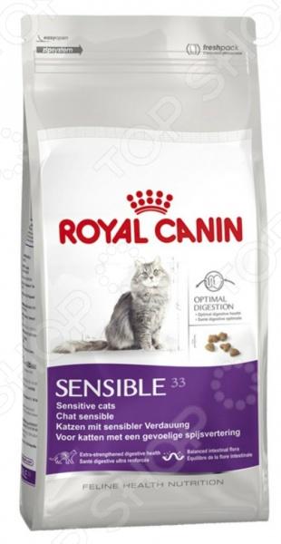 Корм сухой диетический для кошек Royal Canin Veterinary Diet Sensiblе 33 royal canin sensitivity control диетический консервированный корм для собак 420 г