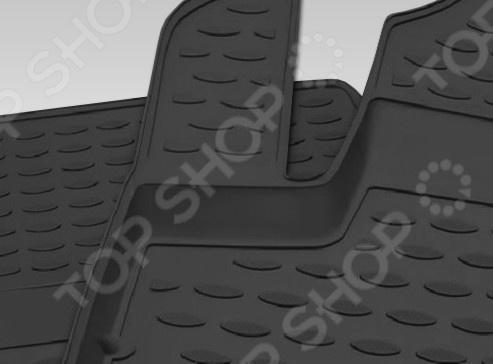 Комплект ковриков в салон автомобиля Novline-Autofamily Toyota Camry 2006-2011 pu меж дней бегущих