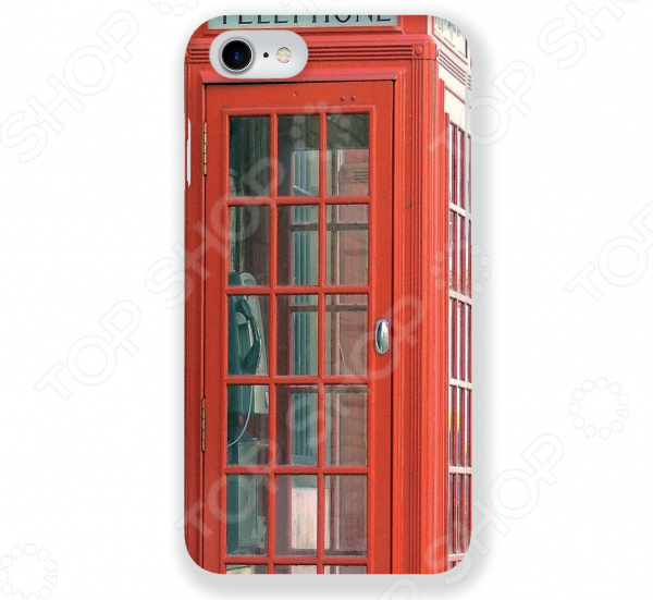 Чехол для iPhone 7 Mitya Veselkov «Будка в Лондоне» mitya veselkov будка в лондоне
