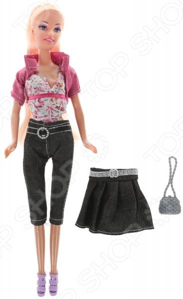Кукла с аксессуарами Toys Lab «Блондинка: Джинсовый стиль»