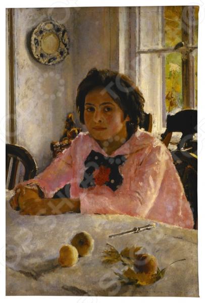Обложка для автодокументов Mitya Veselkov «Девочка с персиками В. Серов»
