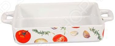 Форма для выпечки керамическая Едим Дома «Прованс». Размер: 18х14 см форма для выпечки стеклянная едим дома pv5
