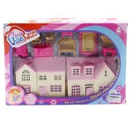 Купить Домик кукольный Shantou Gepai с набором мебели