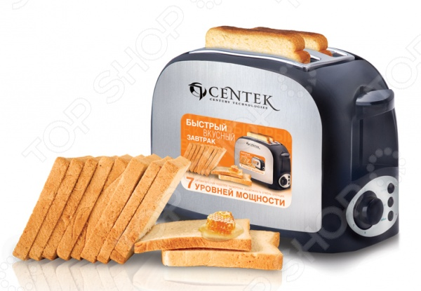 Тостер Centek CT-1421 тостер centek ct 1428