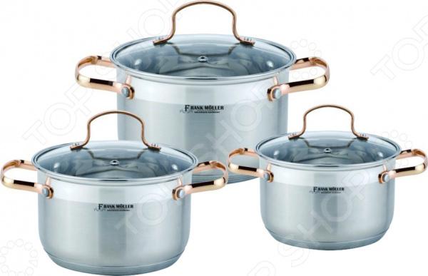 Набор посуды для готовки Frank Moller Laura