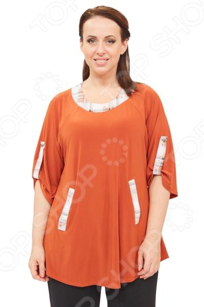Туника Pretty Woman «Дафна». Цвет: оранжевый